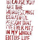 """Short Term 12: """"Weirdest & Most Beautiful"""" by dictionaried"""