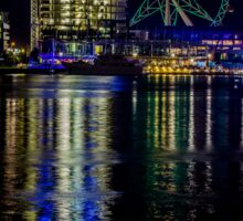 Melbourne Star, Melbourne Docklands, Victoria, Australia. Sticker