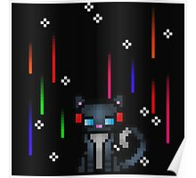 Pixel Kitty Poster