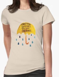 """HIMYM: """"Funny how"""" Womens Fitted T-Shirt"""