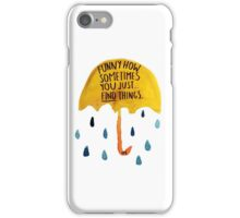 """HIMYM: """"Funny how"""" iPhone Case/Skin"""