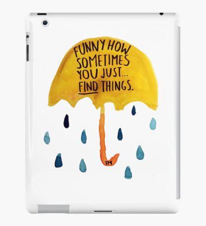 "HIMYM: ""Funny how"" iPad Case/Skin"
