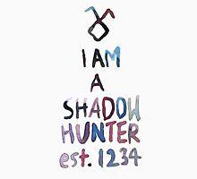 I am a shadowhunter (watercolor) Unisex T-Shirt