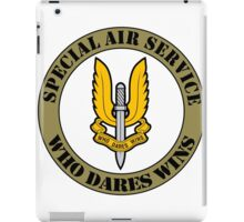 SAS Special Air Service Ellite Military Force  iPad Case/Skin