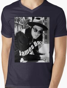 JAMES BAY Mens V-Neck T-Shirt