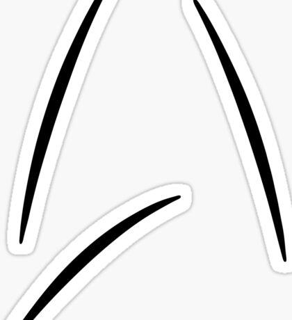 Captain Kirk's Mug from Beyond Sticker