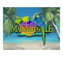 jimmy buffet margaritaville special album cover Photographic Print