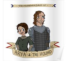The Misadventures of Arya and The Hound Poster