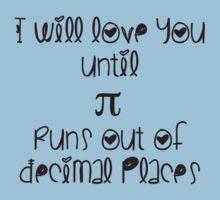 Never ending pi love Kids Tee