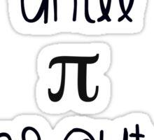 Never ending pi love Sticker