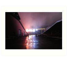 Gillette Stadium Art Print