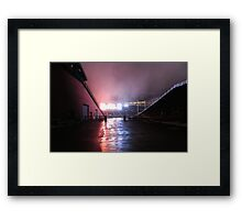 Gillette Stadium Framed Print