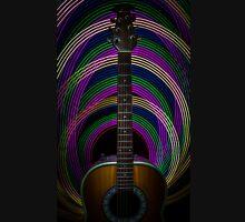 Light Painted Guitar Unisex T-Shirt