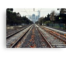 Fast Track to Melbourne Canvas Print