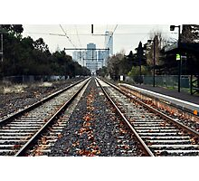 Fast Track to Melbourne Photographic Print
