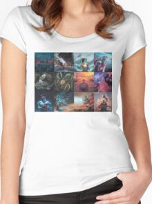 The Human Condition Women's Fitted Scoop T-Shirt