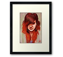 'Phoenix Hair' - Fine Art Portrait Framed Print