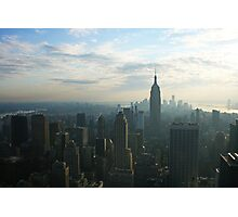 New York Skyline 2011 Photographic Print