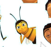 Barry B. Benson Sticker Lot - Bee Movie Sticker