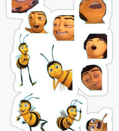 Barry B. Benson Sticker Lot - Bee Movie Sticker