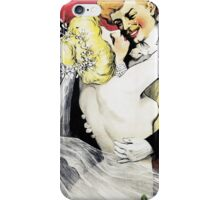 Vintage Scala Enfin Seuls Poster iPhone Case/Skin