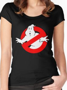 GHOSBUSTER Women's Fitted Scoop T-Shirt