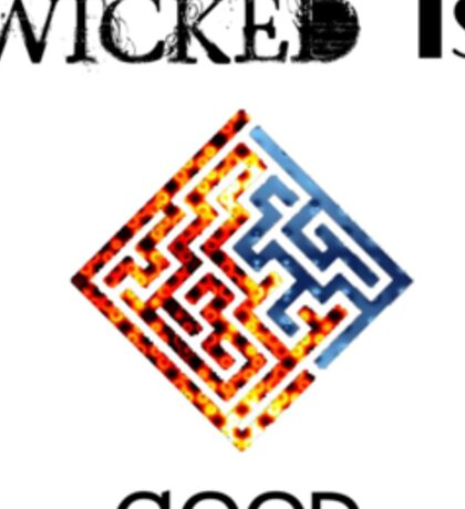 "The Maze Runner ""WICKED Is Good"" Print Sticker"