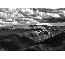 View from atop Winter Park Mountain 3  Photographic Print