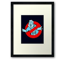 Force GhostBusters Framed Print