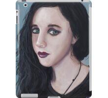 'Black Top' - Fine Art Portrait iPad Case/Skin