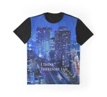 Engrish. I think therefore Graphic T-Shirt