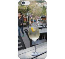 Glass of Wine in Queenstown iPhone Case/Skin