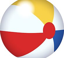 Big Beach Ball by Mike Cressy