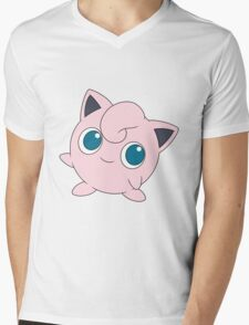 Jigglypuff - Pokemon Mens V-Neck T-Shirt