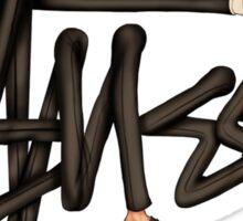 STUSSY - BOMBERMAN GRAFITI Art #MP Sticker
