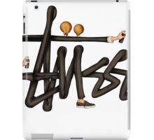 STUSSY - BOMBERMAN GRAFITI Art #MP iPad Case/Skin