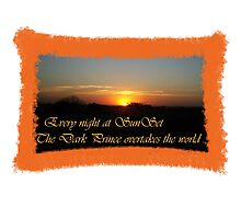 Every night at sunset Photographic Print