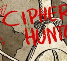 Cipher Hunt Sticker