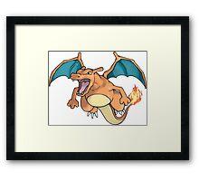 Charizard - Pokemon Framed Print