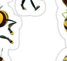 Bee Movie Characters Sticker Lot Sticker