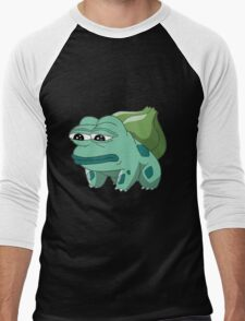 Bulbasaur Pepe Men's Baseball ¾ T-Shirt