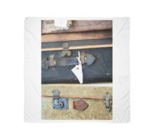 Vintage Style Luggage Scarf