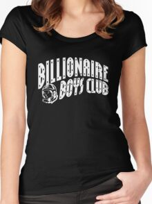 billionaire boys club Women's Fitted Scoop T-Shirt