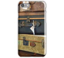 Vintage Style Luggage iPhone Case/Skin