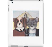 American Gothic Animals iPad Case/Skin