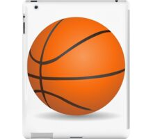 Basketball ball sports for sport lovers iPad Case/Skin