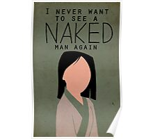 I Never Want to See a Naked Man Again Poster
