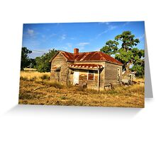 Weathered in Age Greeting Card