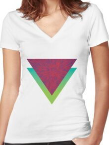 Commune by Goat Women's Fitted V-Neck T-Shirt