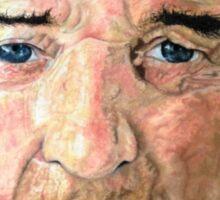 Elderly Man Sticker